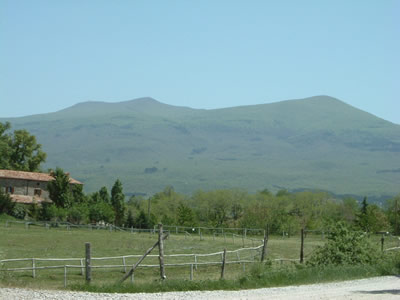 Amiata Mountain from Sorripe